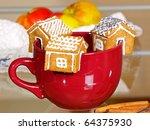 Mini Treacle Cake Houses...