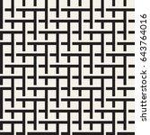 seamless woven stripes lattice... | Shutterstock .eps vector #643764016
