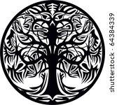 tree vector | Shutterstock .eps vector #64384339