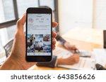 chiang mai  thailand   jul 7...   Shutterstock . vector #643856626