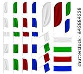 set of multicolored banner ...   Shutterstock .eps vector #643884238