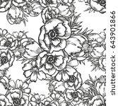 abstract elegance seamless...   Shutterstock .eps vector #643901866
