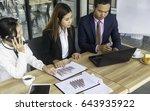 businessman looking for... | Shutterstock . vector #643935922