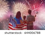 Patriotic Holiday. Happy Famil...