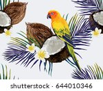 beautiful vector hand drawn... | Shutterstock .eps vector #644010346