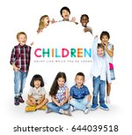 childhood playing and having fun | Shutterstock . vector #644039518