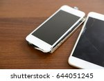 broken smart phones | Shutterstock . vector #644051245