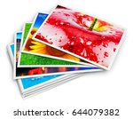 creative abstract digital... | Shutterstock . vector #644079382
