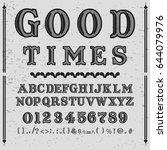 font hand drawn vector script...   Shutterstock .eps vector #644079976