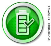 battery charge icon | Shutterstock . vector #64409416
