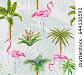 Beautiful Tropic Birds Pink...