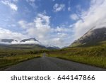 Road To Glen Etive In The...