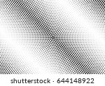 abstract halftone dotted...   Shutterstock .eps vector #644148922