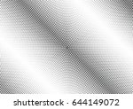 abstract halftone dotted...   Shutterstock .eps vector #644149072