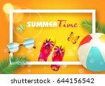 summer. | Shutterstock .eps vector #644156542