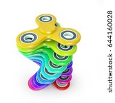 Colorful Fidget Finger Spinner...