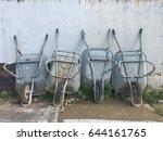 construction cart on site | Shutterstock . vector #644161765