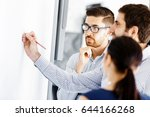 business people in modern office | Shutterstock . vector #644166268