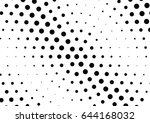 abstract halftone dotted...   Shutterstock .eps vector #644168032