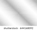 abstract halftone dotted...   Shutterstock .eps vector #644168092