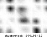 abstract halftone dotted...   Shutterstock .eps vector #644195482