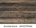 fitted wooden worktop surface.... | Shutterstock . vector #644199466