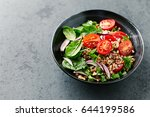 buckwheat salad with cherry...