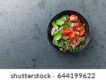 buckwheat salad with juicy...