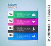 modern infographics options...   Shutterstock .eps vector #644200336