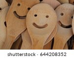 Smile Wooden Rice Ladle