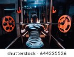 cross training. part of young... | Shutterstock . vector #644235526
