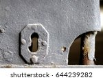 Key Hole Of An Old Prison.
