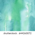 hand made watercolor wash... | Shutterstock . vector #644263072