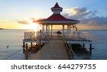 love in sunset | Shutterstock . vector #644279755