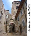 journey to the sea in croatia ... | Shutterstock . vector #64429063