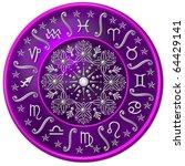zodiac disc | Shutterstock . vector #64429141