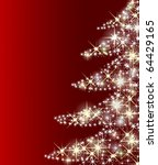 illustration of a christmas tree | Shutterstock . vector #64429165