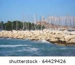 journey to the sea in croatia ... | Shutterstock . vector #64429426