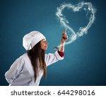 smelling the lovely aroma   Shutterstock . vector #644298016