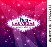 las vegas casino sign.casino... | Shutterstock .eps vector #644322688