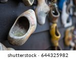 close up clogs  zaanse schans ... | Shutterstock . vector #644325982