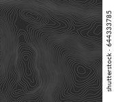 topographic map background... | Shutterstock .eps vector #644333785