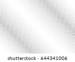 abstract halftone dotted...   Shutterstock .eps vector #644341006
