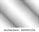abstract halftone dotted...   Shutterstock .eps vector #644341156