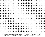 abstract halftone dotted...   Shutterstock .eps vector #644352136