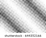 abstract halftone dotted...   Shutterstock .eps vector #644352166
