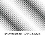 abstract halftone dotted...   Shutterstock .eps vector #644352226