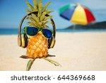 Ripe Attractive Pineapple In...