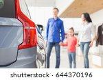 selective focus on a car man... | Shutterstock . vector #644370196