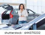 thoughtful mature asian woman... | Shutterstock . vector #644370232